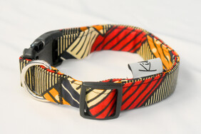 Geo Lines Dog Collar