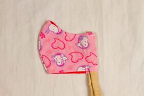 Snoopy Hearts Kids' Face Mask